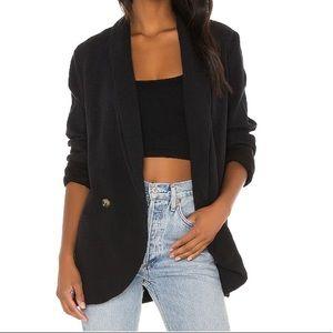Free people Women's Oversized Blazer in Black New